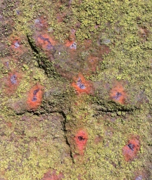 Detail Grabkreuz Beelitz Schönefeld